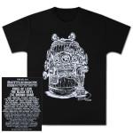 Bottle Rock Napa Valley Men's 2013 Event Line up– Black T-Shirt