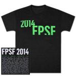 FPSF 2014 Unisex Cutoff Triblend T-Shirt