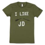 "JD McPherson ""I Like JD"" Ladies T-Shirt"