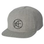 Kane Brown Heather Grey Flatbrim Snapback hat