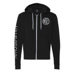 Kane Brown Black Zip Up Logo Hoodie