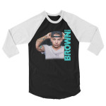Kane Brown Photo Baseball Raglan