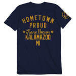 Kane Brown Hometown Proud T-shirt - Kalamazoo