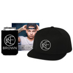 Kane Brown Album + Flatbrim Hat + Koozie