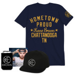 Kane Brown + T-shirt + Flatbrim + Koozie