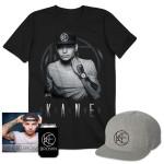 KANE BROWN CD + TOUR T-SHIRT + FLATBRIM + KOOZIE