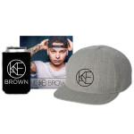 Kane Brown Album + Flatbrim Hat + Koozie
