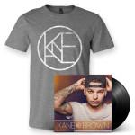 Kane Brown LP + T-Shirt Bundle