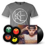 Kane brown LP + T-Shirt + Coaster + Polaroid Bundle Set