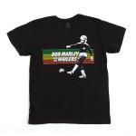 Bob Marley Soccer Rasta Stripe T-Shirt