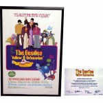 The Beatles 'Yellow Submarine' Movie Litho Framed