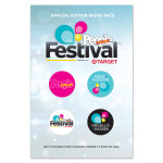 Official Festival People en Español Variety Button Pack