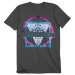 The City Harmonic Grey Triangle T-Shirt