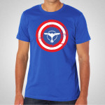 Tiesto - Captain America Royal Blue T-Shirt