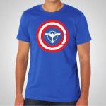 Tiesto - Captain America Royal Blue T-Shirt