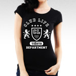 Tiesto - Club Life Department Ladies Black T-Shirt