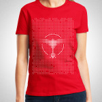 Tiesto - Dots Nyana Ladies Red T-Shirt