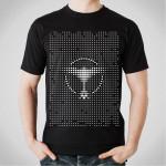 Tiesto - Dots Nyana Black T-Shirt
