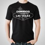 Tiesto - Welcome Vegas Black T-Shirt