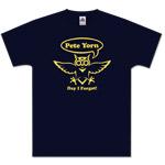 Navy Blue Owl Men's T-Shirt