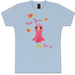 Sky Blue Bird Women's T-Shirt