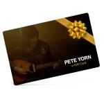 Pete Yorn Electronic Gift Certificate