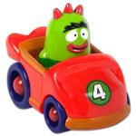 """Yo Gabba Gabba! 4"""" Mobile Vehicle Brobee"""