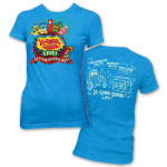 "Yo Gabba Gabba! Live! Ladies ""Get The Sillies Out"" Tour T-shirt"