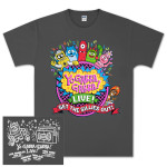 "Yo Gabba Gabba Live! ""Get The Sillies Out"" Tour T-shirt"