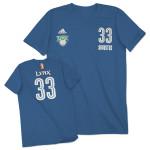 adidas Lynx Augustus Name & Number T-Shirt