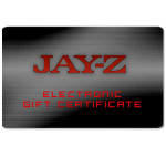 Jay-Z Electronic Gift Certificate