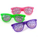 Electric Zoo CustomEyez Logo Double Lenses  Sunglasses