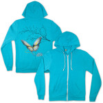 Electric Zoo Day Butterfly Hoodie