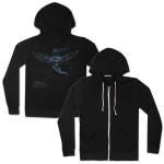 Electric Zoo Night Hummingbird Hoodie