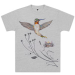 Electric Zoo Day Hummingbird Tee