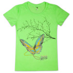 Electric Zoo Ladies Butterfly Tee