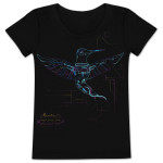 Electric Zoo Ladies Hummingbird Tee