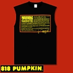 Frank Zappa Warning: Guarantee Sleeveless T-Shirt