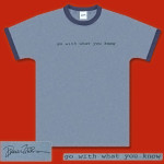 Frank Zappa Go With What You Know T-Shirt