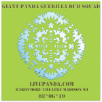 Giant Panda Guerilla Dub Squad - Live Panda! The Barrymore Theatre. Madison, WI