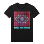 """WALK THE MOON """"Lights"""" T-shirt"""