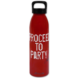 """Toby Keith """"Proceed to Party"""" 24oz Water Bottle"""