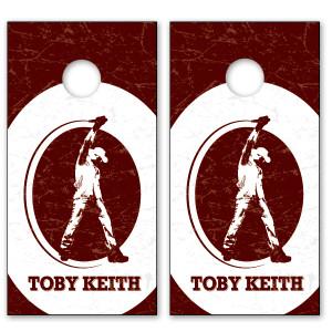 Toby Keith TK Logo Cornhole Set