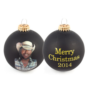 Toby Keith 2014 Christmas Ornament