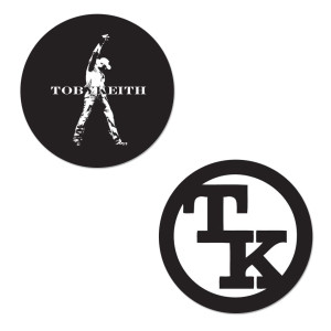 Toby Keith Decals - Set of 2