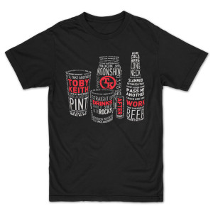 Toby Keith: Drinks After Work Unisex T-Shirt