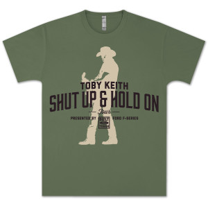 Toby Keith Shut Up & Hold On Tour Fan Club Exclusive T-shirt