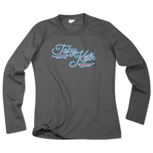 Toby Keith Ladies Longsleeve Tee