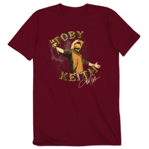Toby Keith LIVE T-shirt