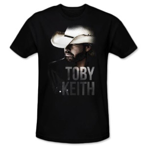 Toby Keith Profile T-shirt